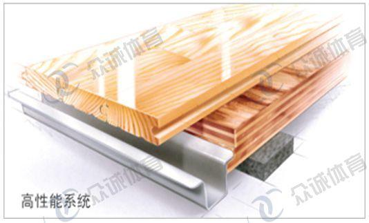 瑞麒诺运动木地板系统
