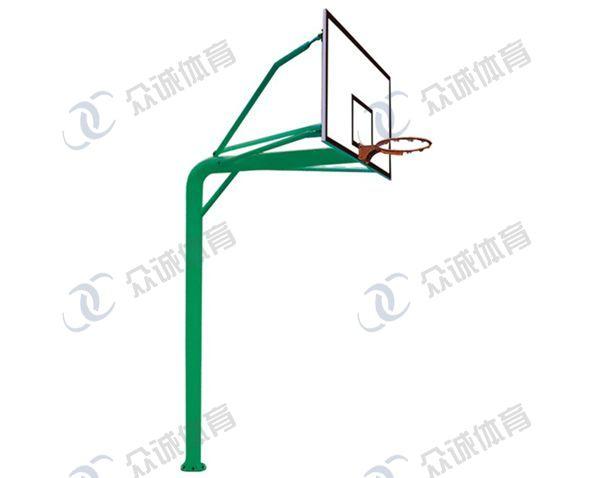 地埋圆管篮球架CH-007A