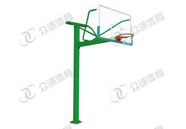 地埋式方管篮球架 CH-L006
