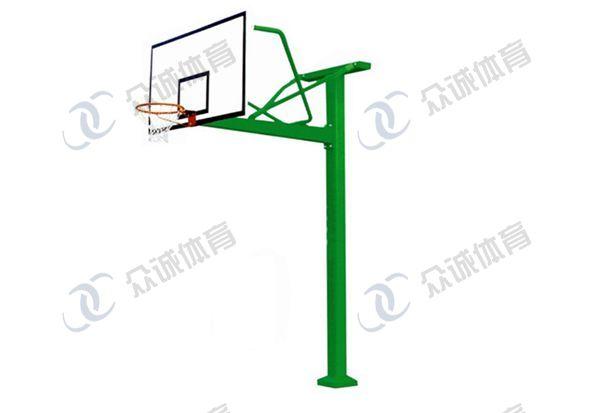 地埋式方管篮球架 CH-L006A