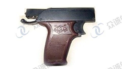 六发式发令枪