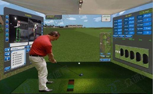宽屏模拟高尔夫系统