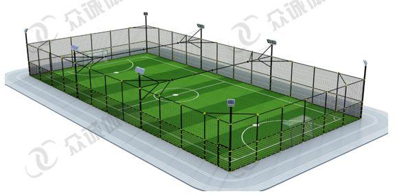固定式笼式足球场
